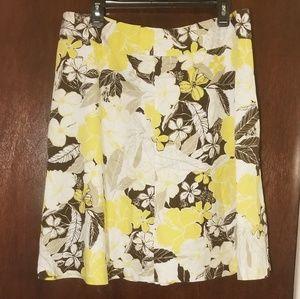 Ann Taylor Tropical Skirt